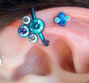 Что такое Конч пирсинг и как проходит процедура прокола уха