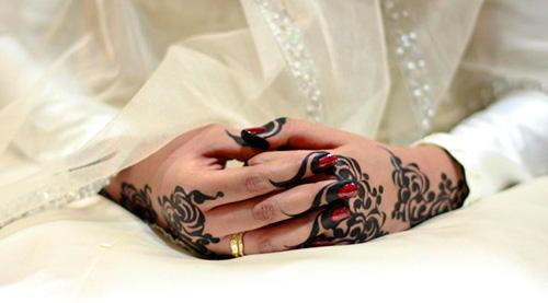 арабский стиль мехенди