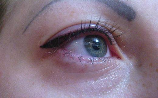 форма татуажа глаз