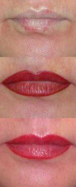 губы с эффектом 3D