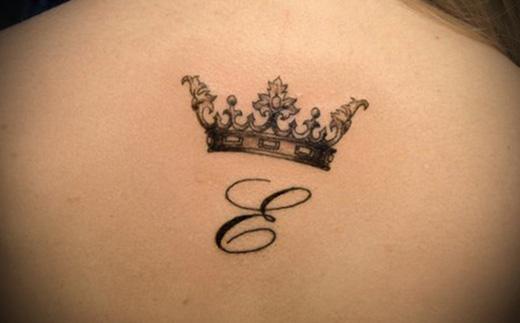корона временное тату