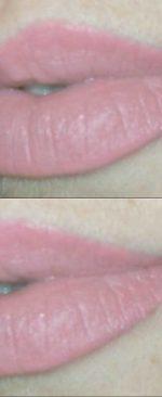 татуаж губ розового цвета