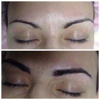 макияж бровей фото