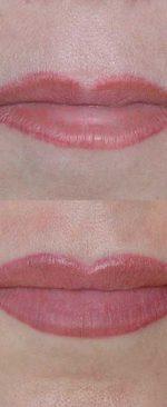 татуаж для тонких губ