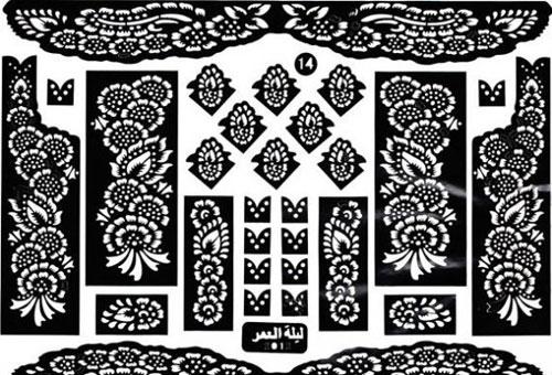 рисунки мехенди