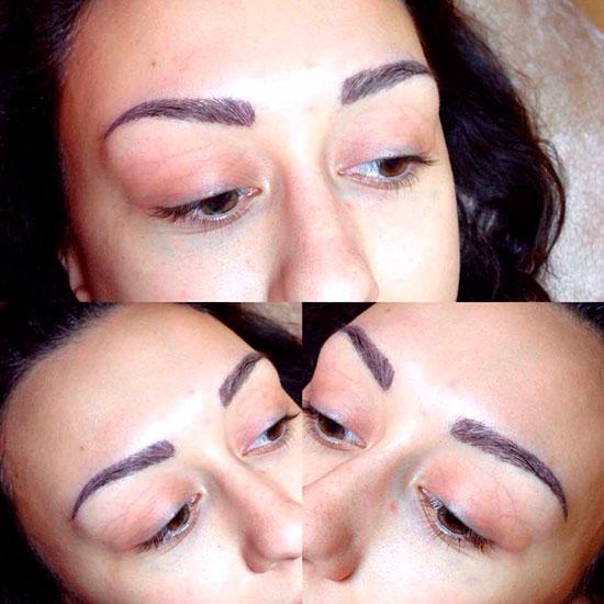 виды макияжа до и после