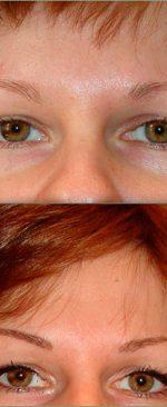 волосковый макияж бровей