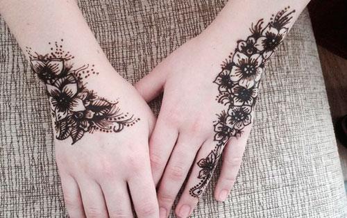 временная татуировка в домашних условиях фото
