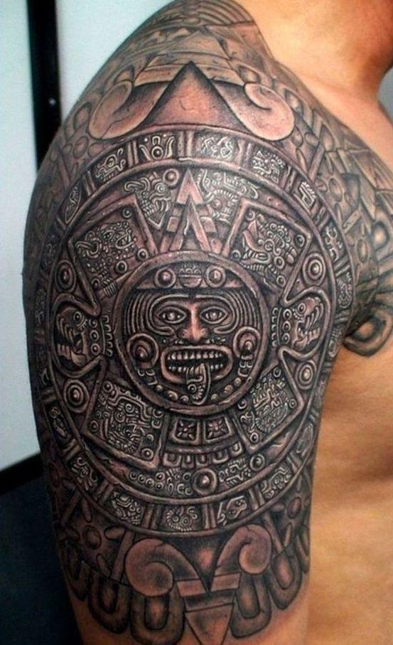 тату майя и ацтеки