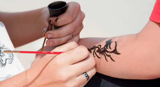 Как сделать временную татуировку в домашних условиях