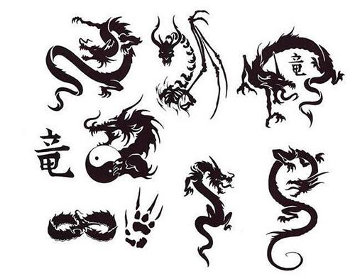 эскизы дракона