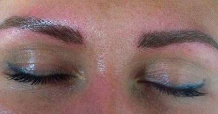 макияж синяков глаз