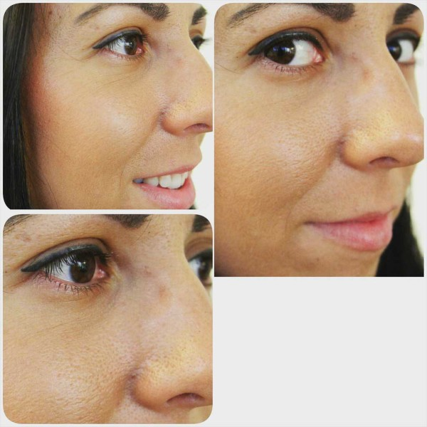 макияж глаз фото до и после