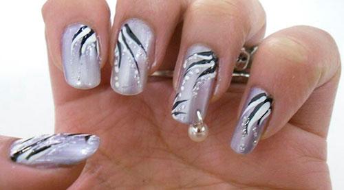 пирсинг ногтей на фото