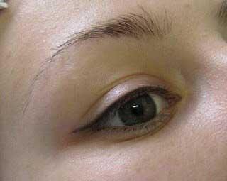 татуаж глаз хной