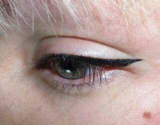 татуаж глаз техника
