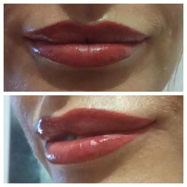 губы эффект 3d