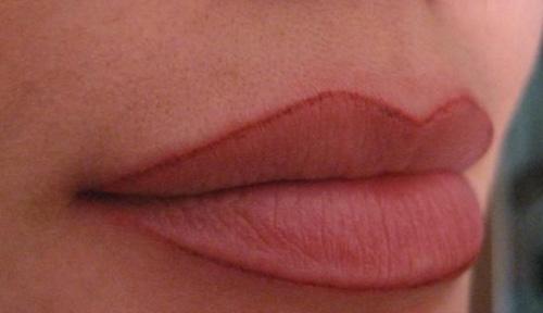 татуаж губ с растушевкой результат после процедуры