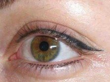 татуаж подводка глаз